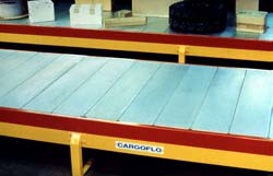 Cargoflo® is a heavy-duty version of the Armorbelt. This Cargoflo was designed for package handling at Federal Express.
