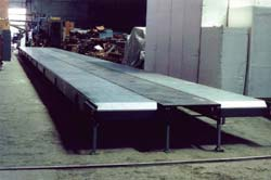This is twin Armorbelt conveyor is for material handling.
