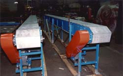 These Armorbelts are used as production conveyors.