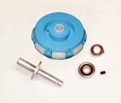 This is a powered bushing mounting kit. Click to enlarge.