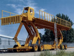 The 40K Loader / Unloader is used for loading aircraft cargo.